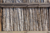 dry reed fence texture