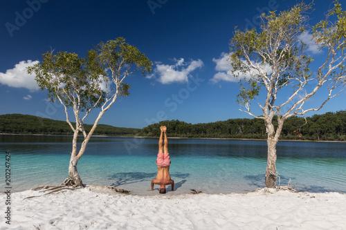 Aluminium Tropical strand Mckenzie Lake, Fraser Island