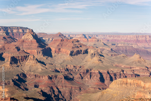 Plexiglas Zalm Grand Canyon view