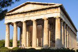 Temple of Hephaestus Theseion at the north-west side of the Agora - Athens, Greece - 202262870