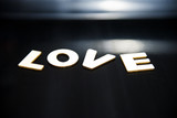 it,s simply the word love.