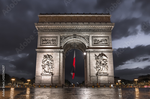 Fridge magnet Paris - Arc de Triomphe