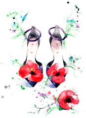 sandals © okalinichenko