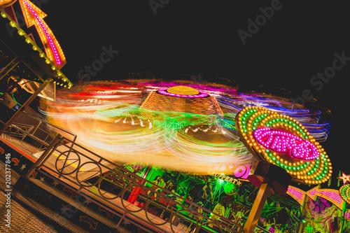 Fotobehang Amusementspark Karusell3