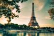 Tour Eiffel Paris Vintage