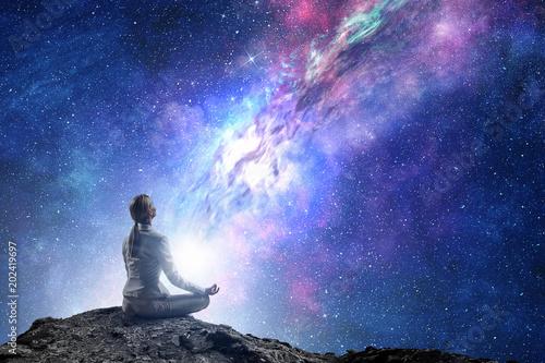 Aluminium School de yoga Yoga as physical and spiritual therapy . Mixed media