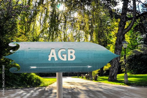Schild 254 - AGB