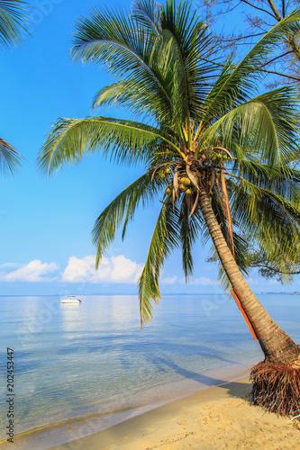 Beautiful beach of Sihanoukville, Cambodia.