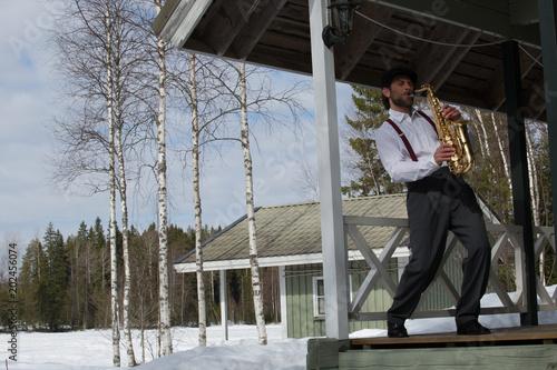 Saxophonist 0101990