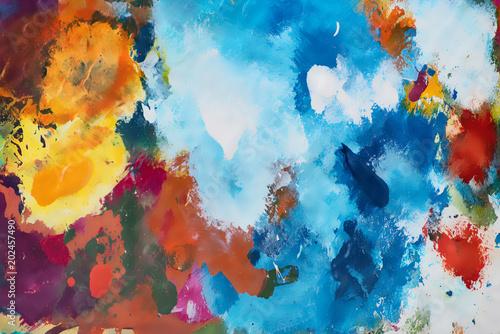 Artist Painting Color Pallet © MidoSemsem