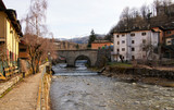 Fiumalbo, Tuscany, Italy: mountain village