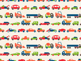 seamless pattern with toy cars