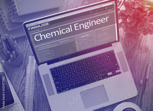 Job Opening Chemical Engineer. 3D.