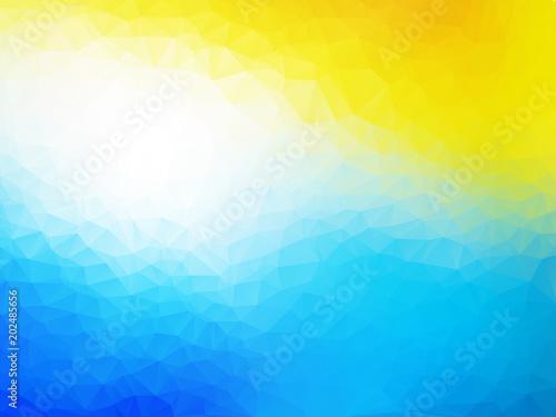 wakacje letnie kolorowy wzór geometryczny