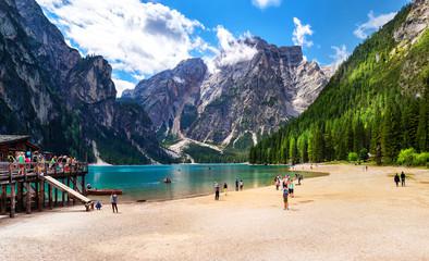 Pragser Wildsee, Dolomiten, Südtirol