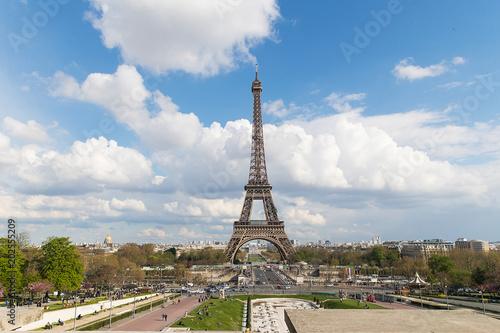 Foto Murales Eiffel Tower in Paris, France