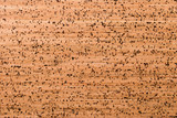 Close Up Background and Texture of Cork Board Wood Surface, Nature Product Industrial - 202574693