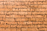 Close Up Background and Texture of Cork Board Wood Surface, Nature Product Industrial - 202574826