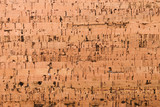 Close Up Background and Texture of Cork Board Wood Surface, Nature Product Industrial - 202575469