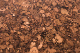 Close Up Background and Texture of Cork Board Wood Surface, Nature Product Industrial - 202575623