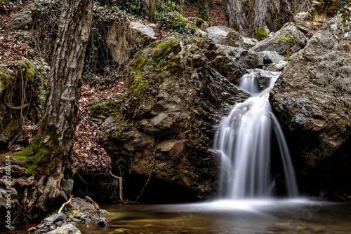 Plexiglas Cyprus kleiner Wasserfall in Zypern