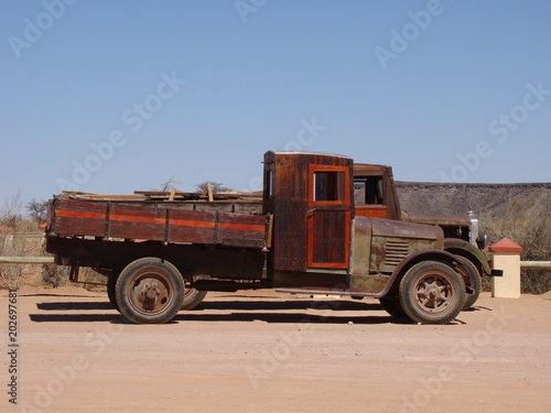 Old truck. Fish River Canyon. 1