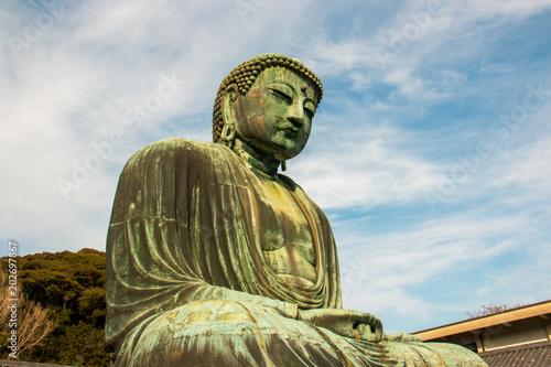Plexiglas Boeddha Great Giant Buddha of Kamakura, Japan