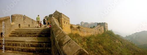 Fototapeta The Great Wall of China at Jinshanling, Beijing