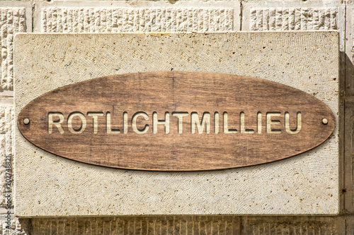 Schild 306 - Rotlichtmillieu