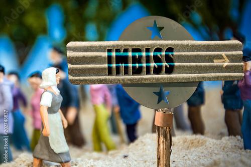 Schild 310 - Imbiss
