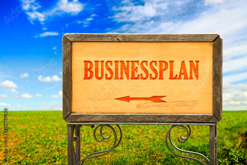 Schild 284 - Businessplan