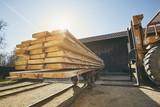 Sawmill at the sunrise - 202789084