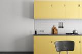Bright kitchen with copyspace - 202810641