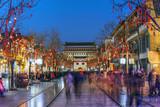 Qianmen street, Beijing, China - 202814057