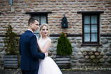bride and groom wedding photosession - 202817807