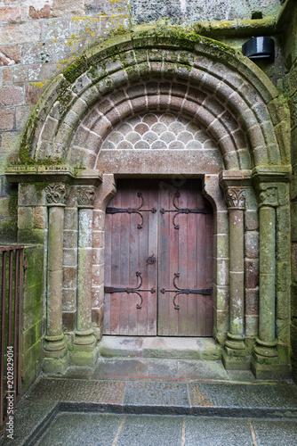 Średniowieczne wejście
