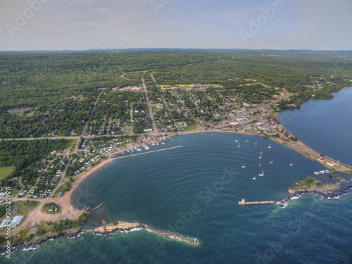 Grand Marais is a small Harbor City on the North Shore of Lake Superior in Minnesota