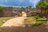 Archaeological ruins of Tulum in Mexico - 202887853