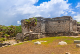 Archaeological ruins of Tulum in Mexico - 202887896