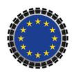 Europe - union européenne - communauté européenne - état - pays - membre - drapeau européen