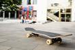 skatboard auf dem schulhof