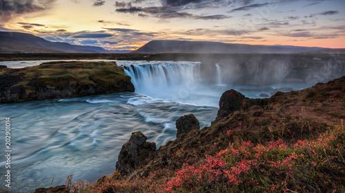 Godafoss, Islande, berühmter Wasserfall in Island - 202901014