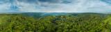 Fototapeta Las - 360° Luftbild Panorama Pfälzer Wald © apfelweile