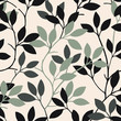 Summer leaves pattern - 202920693