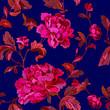Rose flowers pattern - 202924294
