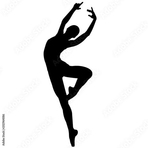 Ballerina dancer silhouette, Ballet dance clipart, Ballerina vector, Svg, png, eps,   jpg © Loveleen