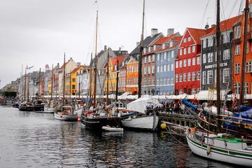 Sailing into Copenhagen