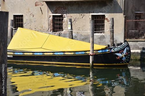 Plexiglas Zwavel geel Chioggia, Venezia, Veneto, Italia