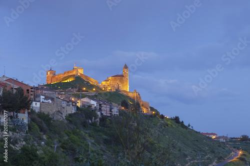 Castle of San Vicente de la Sonsierra in La Rioja, Spain.
