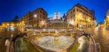 Spanish Steps at night, Rome, Italy - 203020656
